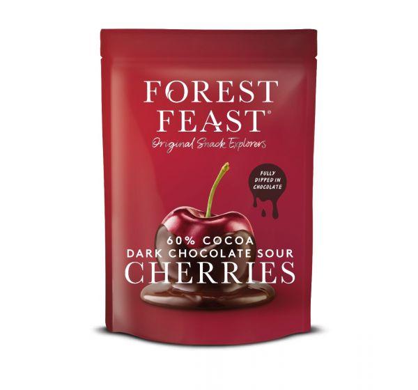 Forest Feast Dark Chocolate Sour Cherries 120g x 6