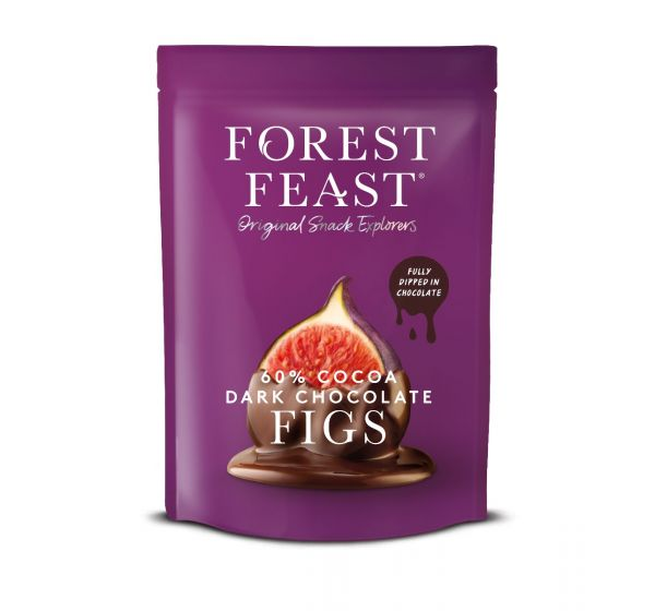 Forest Feast Dark Chocolate Figs 140g x 6
