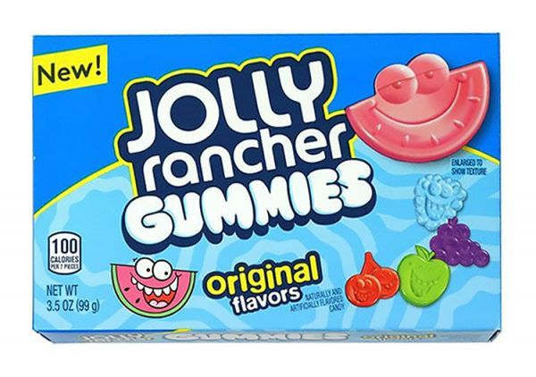 Jolly Rancher Gummies Box Original Flavours 99g x 11