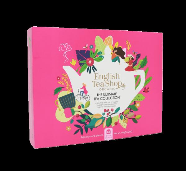 Organic Super Tea Collection - 48 Tea Bags in 6 Flavours 72g x 6 Zero VAT