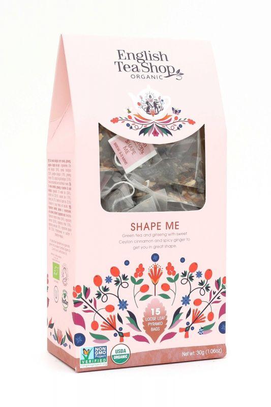 Organic Shape Me  15ct Pyramid Pack 30g x 6 Zero VAT