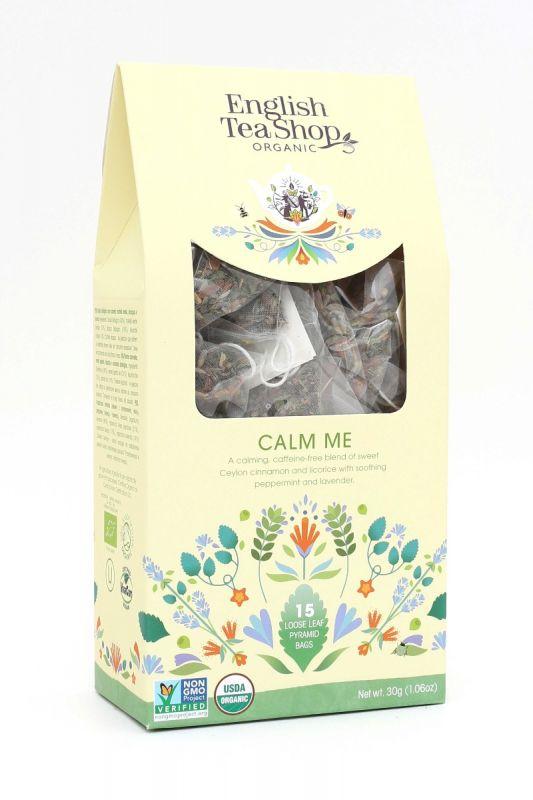 Organic Calm Me 15ct Pyramid Pack 30g x 6 Zero VAT