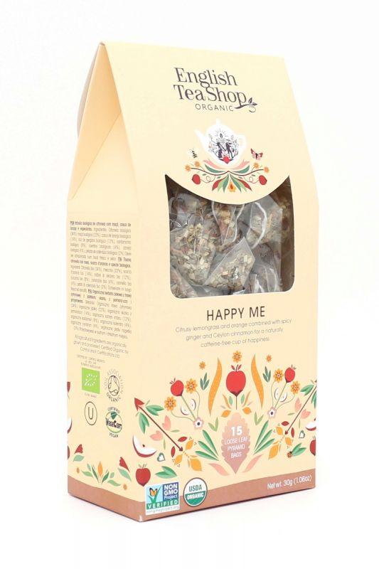 Organic Happy Me 15ct Pyramid Pack 30g x 6 Zero VAT