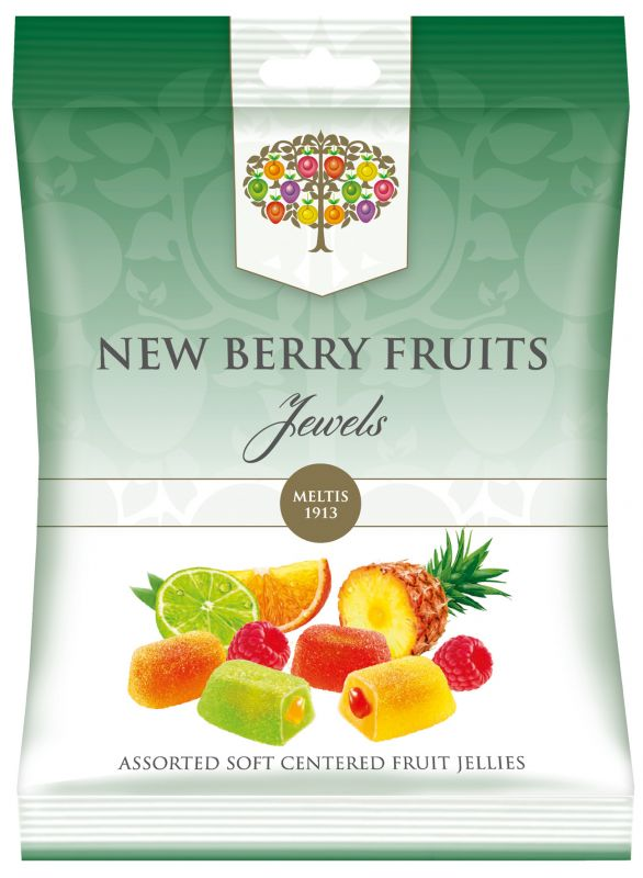 New Berry Fruit Jewels Bag 160g x 8