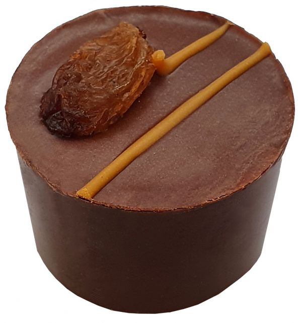 Rum & Raisin (90g x 12) Flow wrapped 6 chocs 1080g / 72 chocolates per box