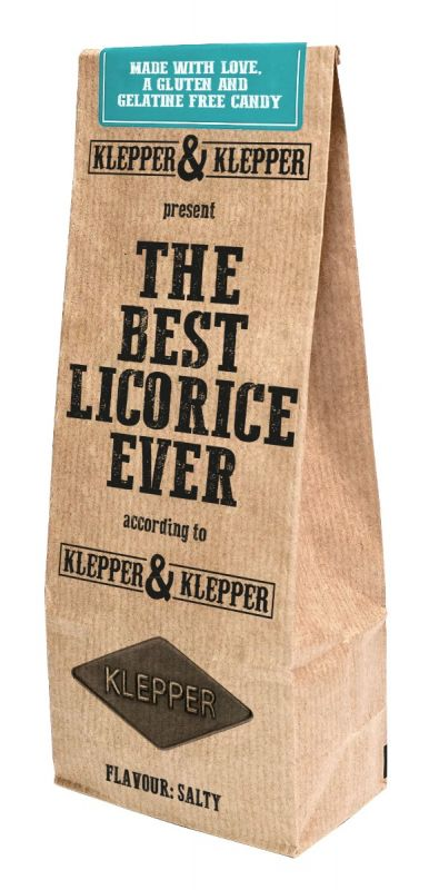 The Best Licorice Ever - Salty 200g x 20