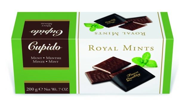 Cupido Royal Mints 200g x 12