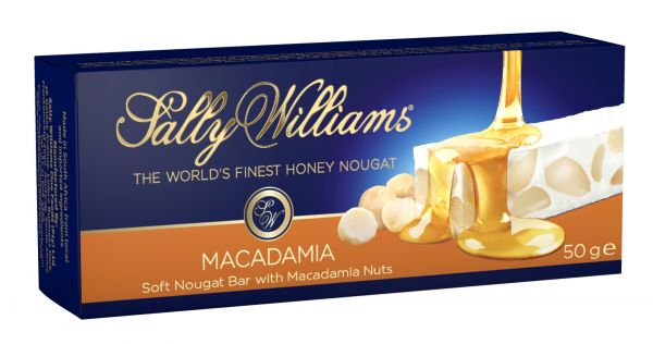 Soft  Nougat Bar/Macadamia Nuts 50g x 12