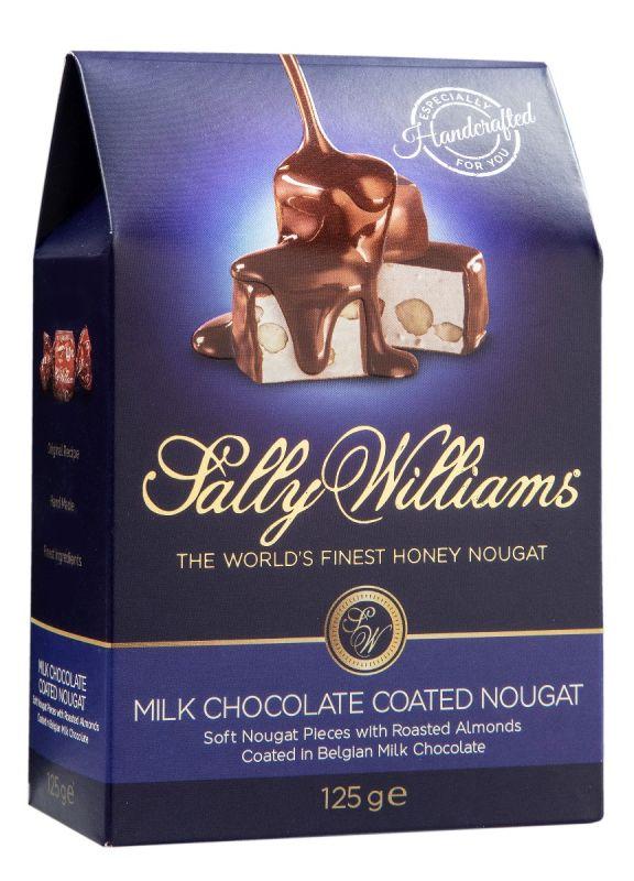 Milk Choc Coated Nougat 125g x 10