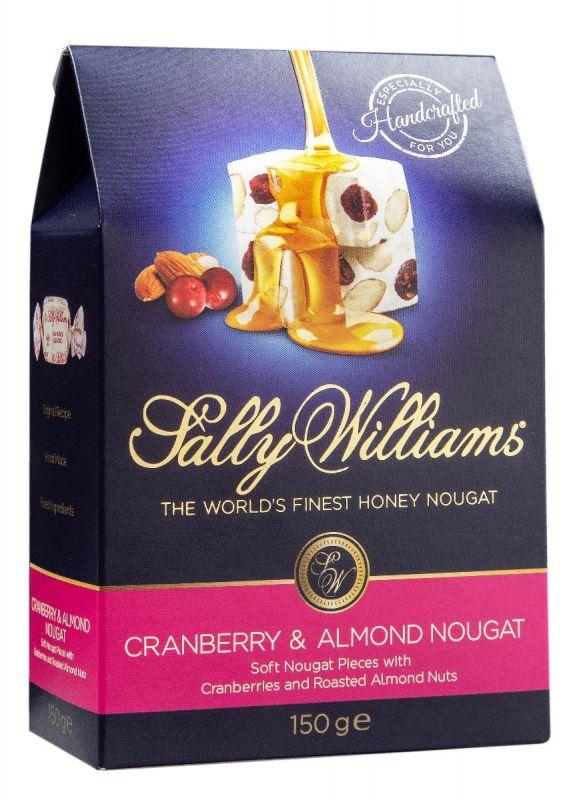 Soft Nougat/Cranberry & Almonds 150g x 10