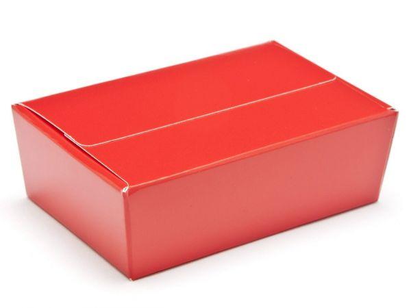 6 Choco Ballotin - Red ( 100 x 66 x 31mm) x 25