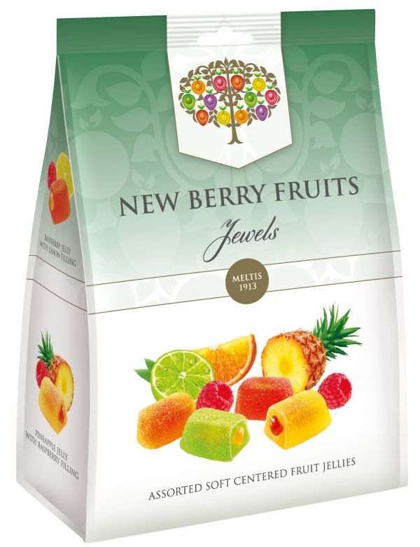 New Berry Fruit Jewels Bag 280g x 8