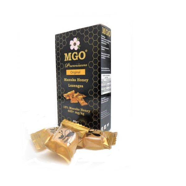 Original Manuka Honey Lozenges 15% Manuka Honey 60g x 6