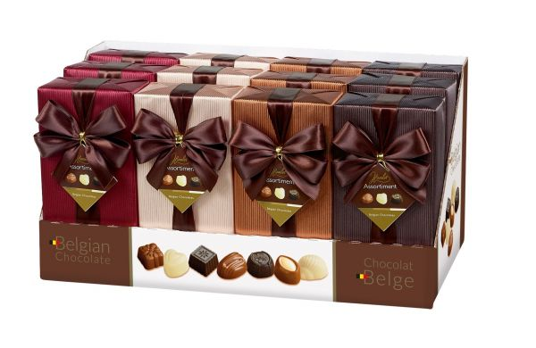 Classic Assorted Ballotins with Bow 250g x 12
