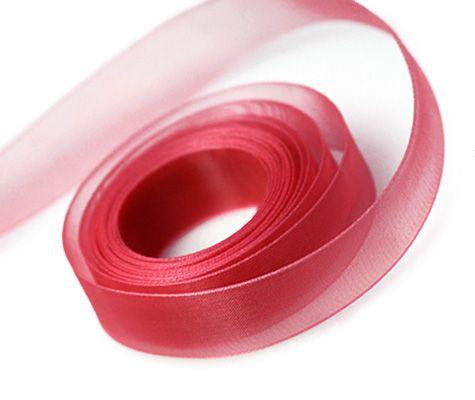 Red Ribbon 23mm x 91.4m (100 yards) x 1