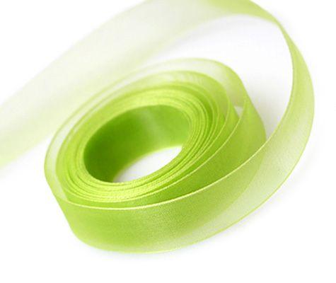 Spring Green Ribbon 23mm x 91.4m (100 yards) x 1