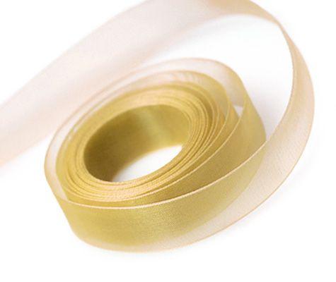 Gold Ribbon 23mm x 91.4m (100 yards) x 1