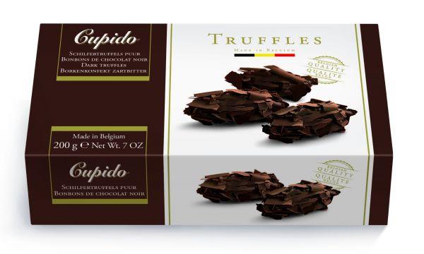 Cupido Dark Flake Truffles 200g x 12