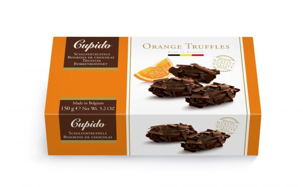Cupido Orange Truffles 150g x 12