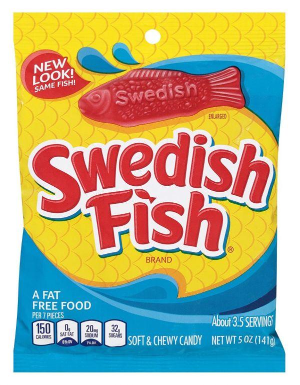 Swedish Fish 141g x 12