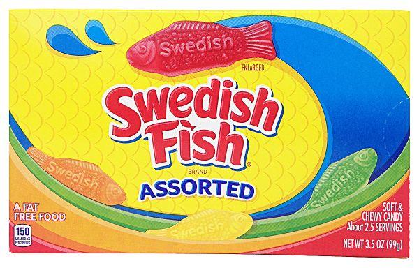 Swedish Fish Assorted 99g x 12
