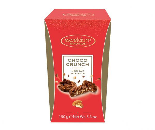 Choco Crunch Dark Choc 150g x 11
