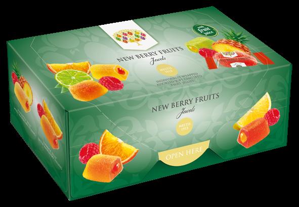 New Berry Fruit Jewels Box 300g x 6