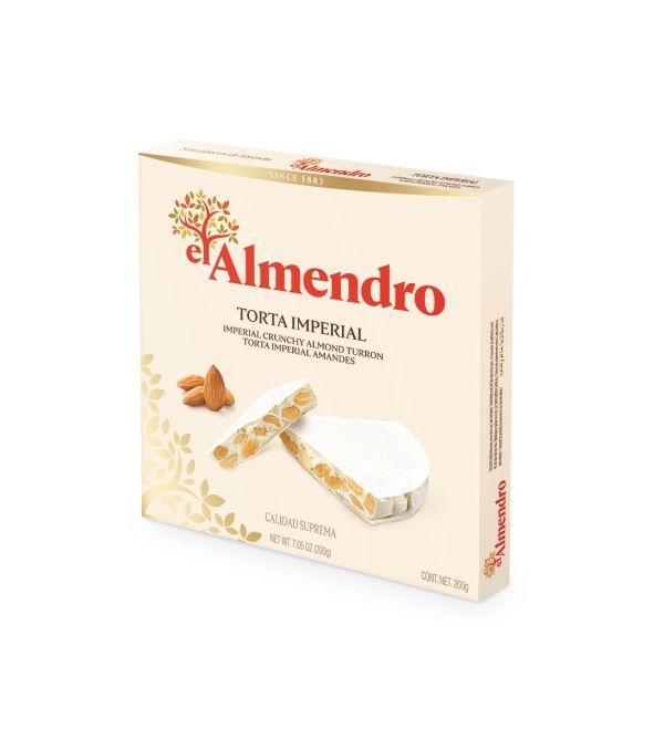 Crunchy Almond Turron Round 200g x 12