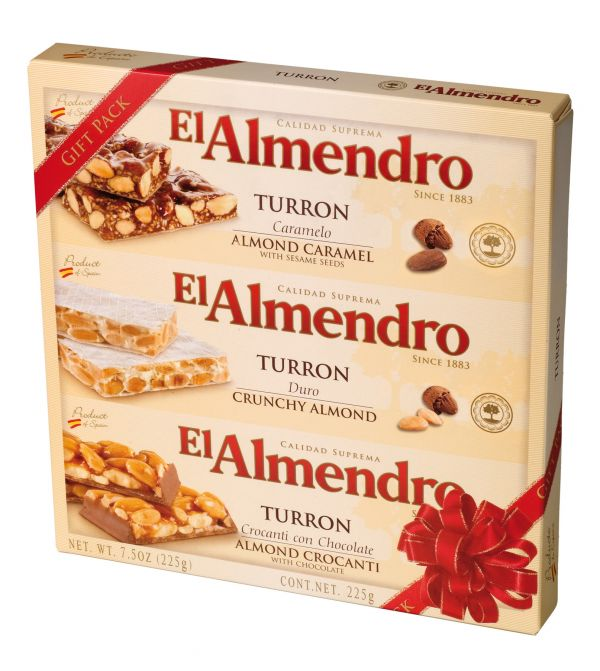 Gift Pack with 3 Bars 225g x 12