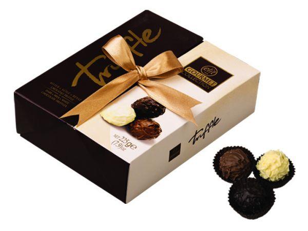 Truffle (Dark, Milk & White Chocolate Truffles with Hazelnut Cream Filling) 225g x 12
