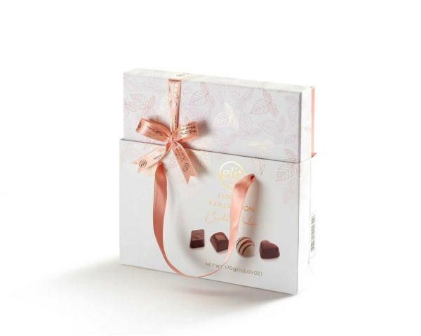 Luxury Pink Collection Chocolate Pralines (with bag) 170g x 10