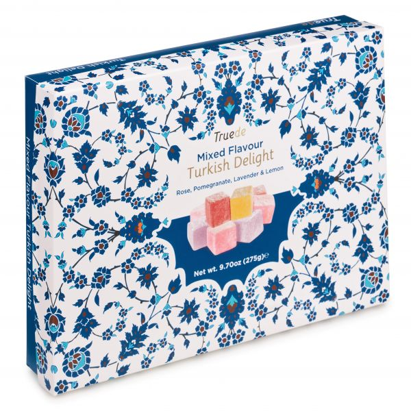 Mixed Flavour Turkish Delight 275g x 12