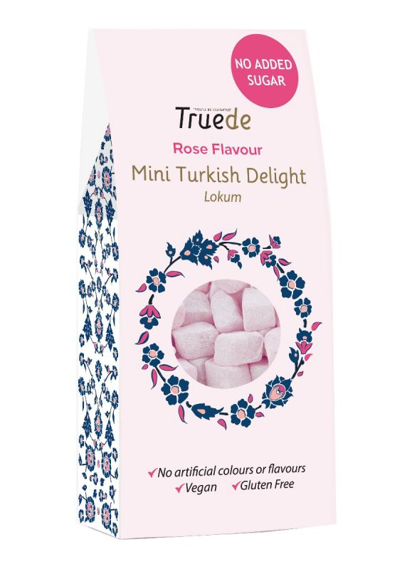 No Added Sugar Mini Rose Turkish Delight 150g x 15