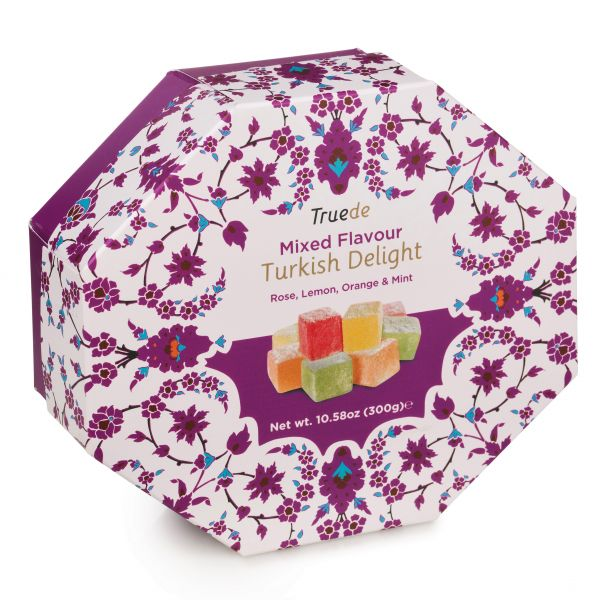 Mixed Flavour Turkish Delight 300g x 12