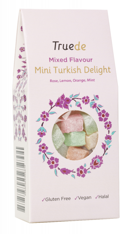Mixed Flavour Turkish Delight 150g x 15