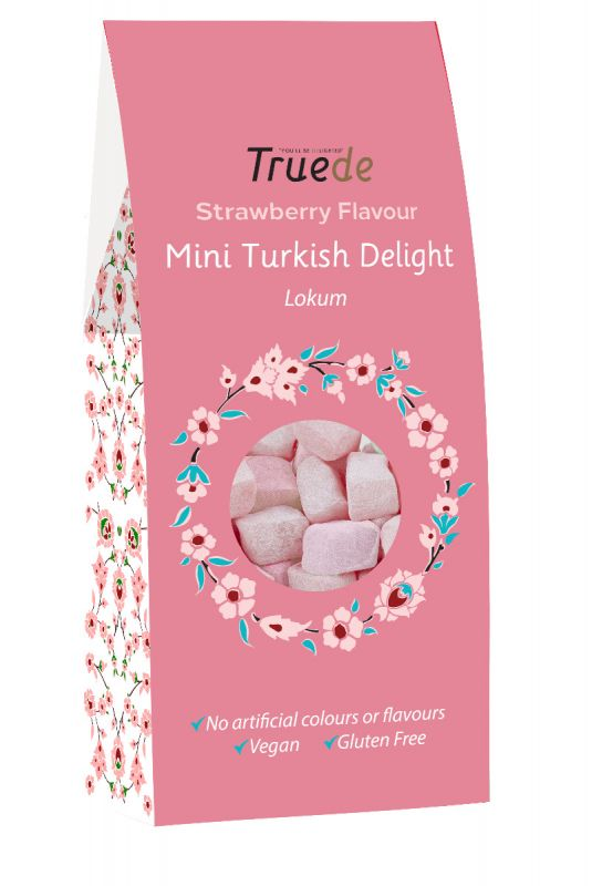 Mini Strawberry Flavour Turkish Delight 150g x 15