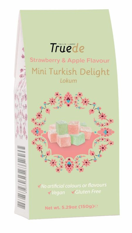 Mini Strawberry & Apple flavoured Turkish Delight 150g x 15
