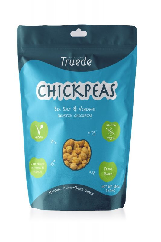 Sea Salt & Vinegar Roasted Chickpeas 120g x 6