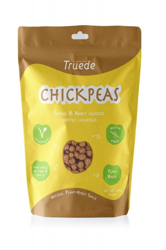 Sesame & Honey Covered Roasted Chickpeas 120g x 6