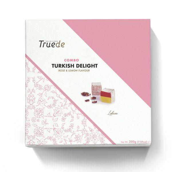 Turkish Delight Combo Rose & Lemon Flavour 200g x 12