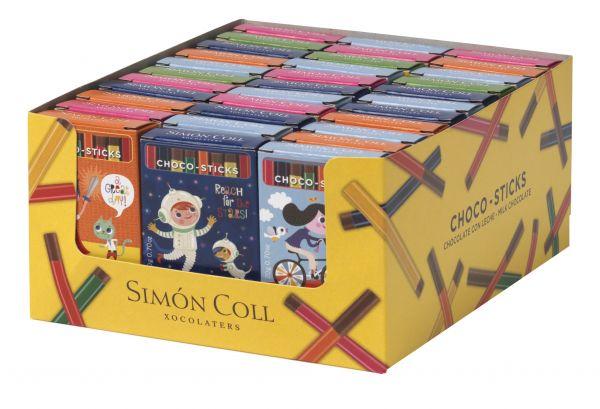 Choco Sticks (Assorted Designs) 20g x 45 Gluten Free