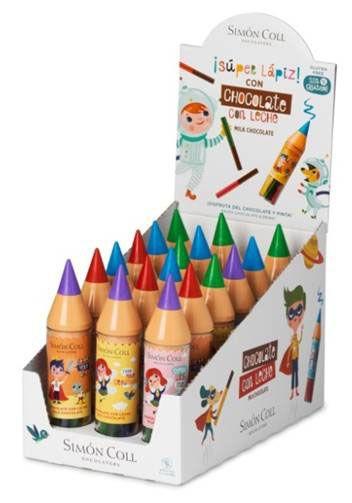 Super Pencil with Milk Chocolate Sticks 30g x 18