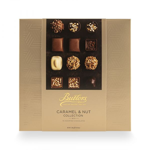 Caramel + Nut Café Collection 240g x 12