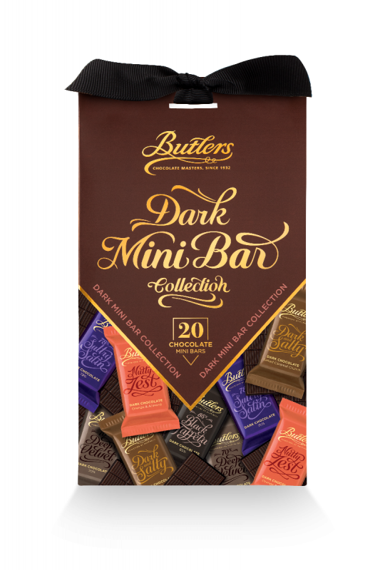 Dark Chocolate 20 Mini Bars Pack 250g x 12