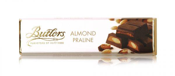 Dark Almond Praline Bar 75g x 20