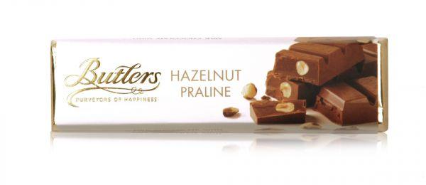 Milk Hazelnut Praline Bar  75g x 20