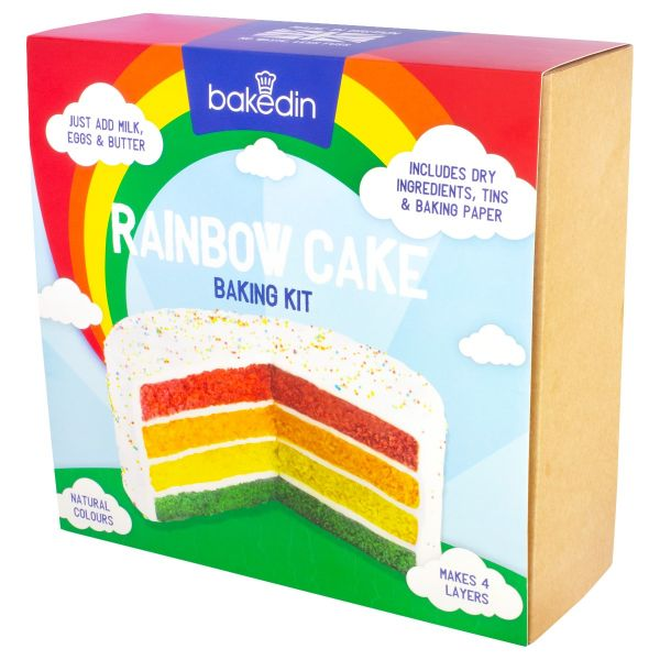 Baked In Rainbow Cake Kit x 6  Zero VAT