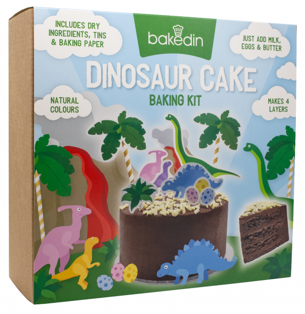 Dinosaur Cake Baking Kit 1000g x 6