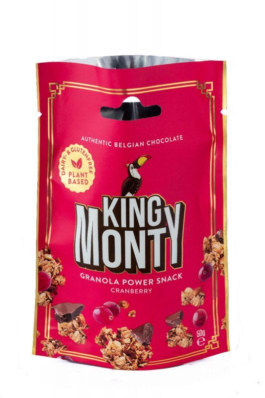 Cranberry Granola snack 50g x 16