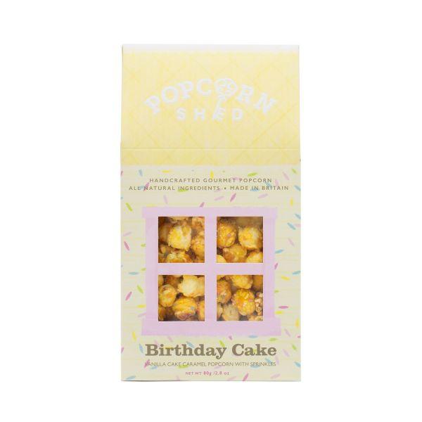 Birthday Cake Popcorn Shed 80g x10